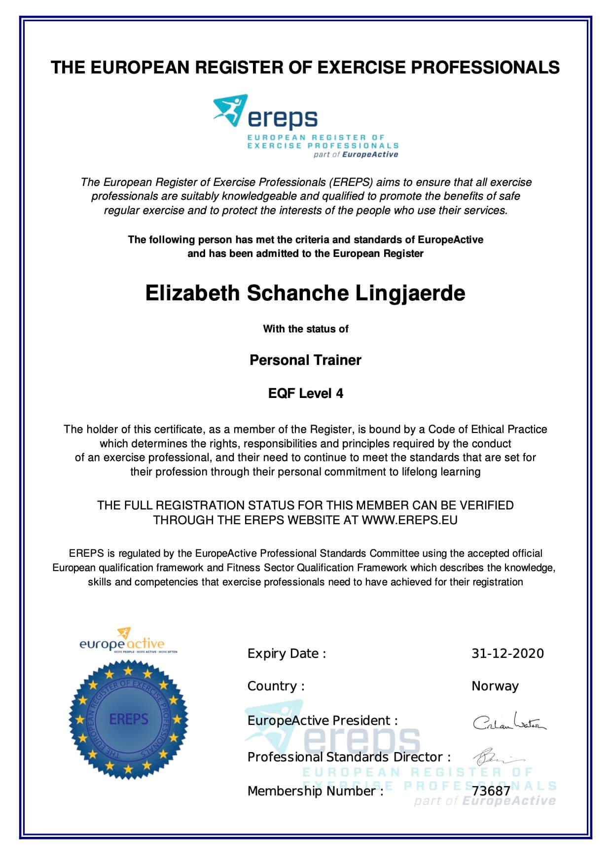 MembershipCertificate